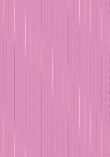 Cart-Us Foliekarton - Dotty Lines Pink