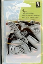 Inkadinkado Rubberstamps hello bird