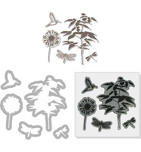 Sizzix -Hero Art stamp & diecut set 657774