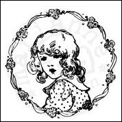 Marianne Design - Cling Stamp Flower girl