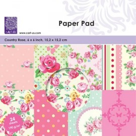 Cart-Us - Paperpad - Country Rose