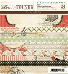 Paperpad - My Minds Eye - lf2103 - Lost & Found II - boek 6x6