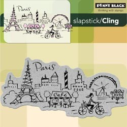 Penny Black stempel - Paris