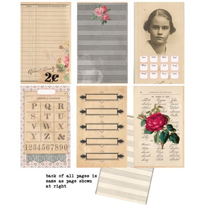 7 Gypsies Trousseau: Journal Pages