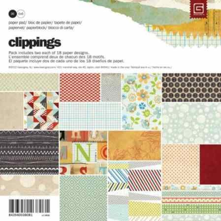 Paperpad - Basic Gray - Clippings