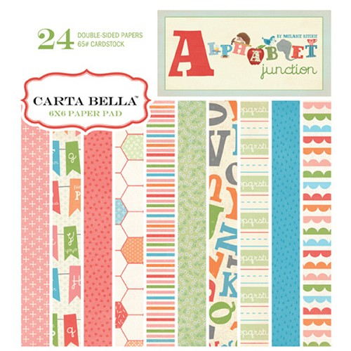 Paperpad - Carta Bella - Alphabet junction