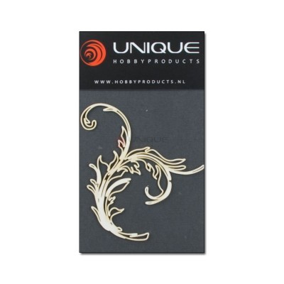 Unique embellishments swirl 8