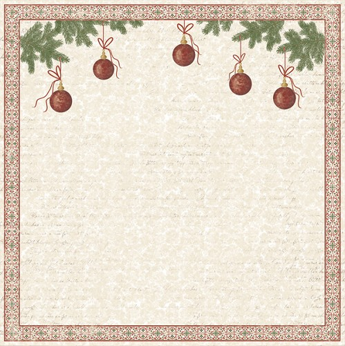 Scrappapier - Maja Design kerst - Deck the halls 560