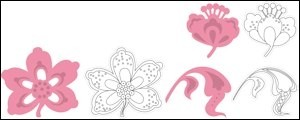 MArianne Design - Collectable - Flower and leaf