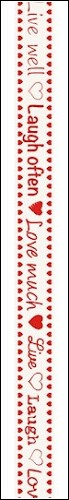 Marianne Design - Tekst Ribbons - Live - Laugh - Love