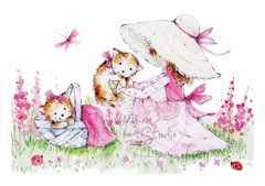 Stempels - Wild rose - Kitty Picnic