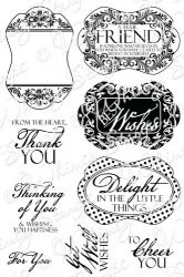 Whimsy Stamps - Everyday Sayings Notables 4