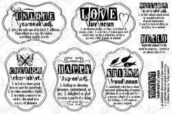 Whimsy Stamps - Definitions Notables 4