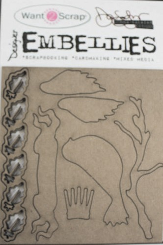 Designer Embellies - Mixed Media Elements (2 - Pack)