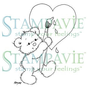 stempel - pen123 - love painting