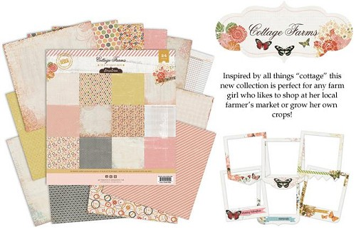 Cottage Farms - Pink Paislee - Paperpads