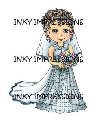 Inky impressions - bride