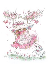 Wild Rose - Annabelle on swing