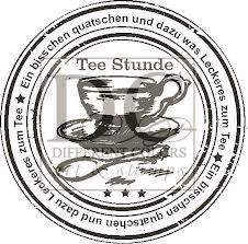 tee stunde - stempel different colors