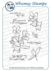Whimsy stempel - Momas - Vibrant Violets