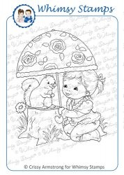 Whimsy stempel - I`ll Protect You - Chrissy Armstrong