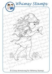Whimsy stempel - Liberty`s Friend - Chrissy Armstrong