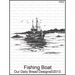 Our Daily Bread Cling Rubber Stamp f452