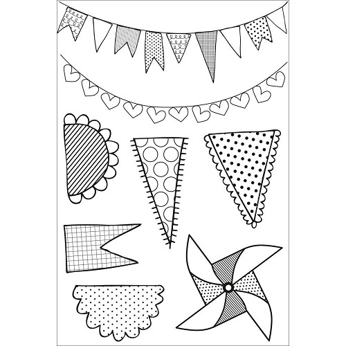 CS840 - Kaisercraft - Pennants