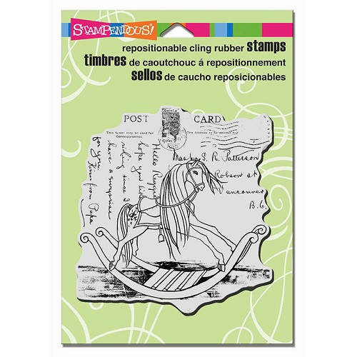 stempel stampendous - rocking horse