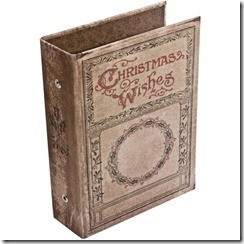 Tim Holtz Idea-ology christmas Worn Cover TH93099
