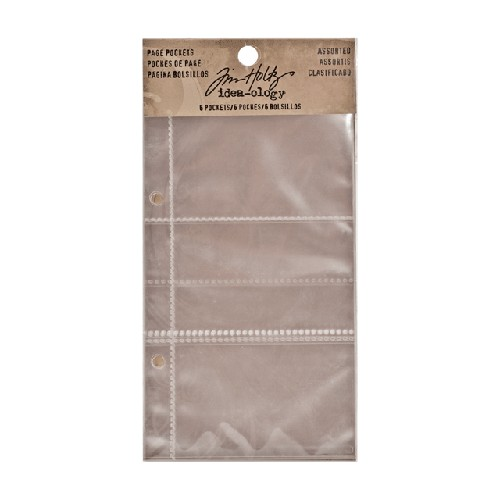 Tim Holtz Idea-ology page pockets TH93106