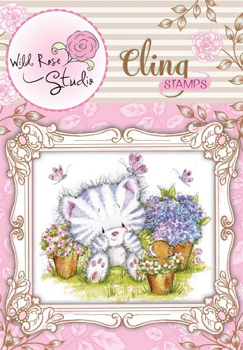 Wild Rose studio stempel - elsie and mouse