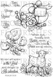 easter wishes - flourishes stempel