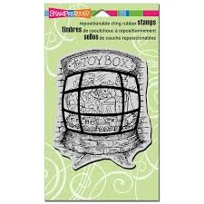 STampendous - toybox stempel  - crr025