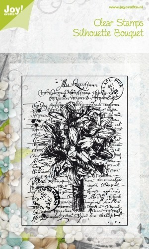 Joy! Crafts - Clearstamp Silhouette Bouquet