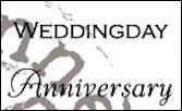 Clear stamp weddingday-anniversary UK - Marianne Design