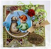 Whimsy stempels - c1081 - Fishin` Friends