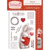 Stempel Be bunni - heart