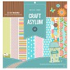 Craft Asylum Meadow Sweet Paperpad 10 sheets 30,5x30,5cm 480128 - double sided sheets