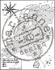 Marianne Design Clear stamp map of Holland