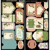 Paperpad Graphic 45 - Time To Flourish stickers