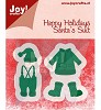 Joy Crafts Cutting & Embossing Kleding van kerstman