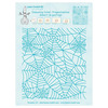 Embossing folder background Spider web 14.4x16cm