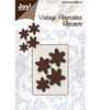 Joy Crafts - Cutting Vintage Flourishes - Bloem 6 blad punt - Mallen - Cutting / embossing