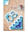 Joy Crafts - Cutting, & Debossing - 50 jr met trap - Mallen - Cutting / embossing