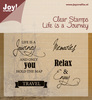 Joy Crafts - Algemeen - Life is a Journey