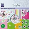 Paper Pad Cart-Us - Spring Flowers