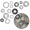 Maya Road Kraft clocks