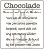 Different Colors - Chocolade voor de genieter