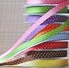 Decorative Ribbon zwart/wit nr. 12133-3304